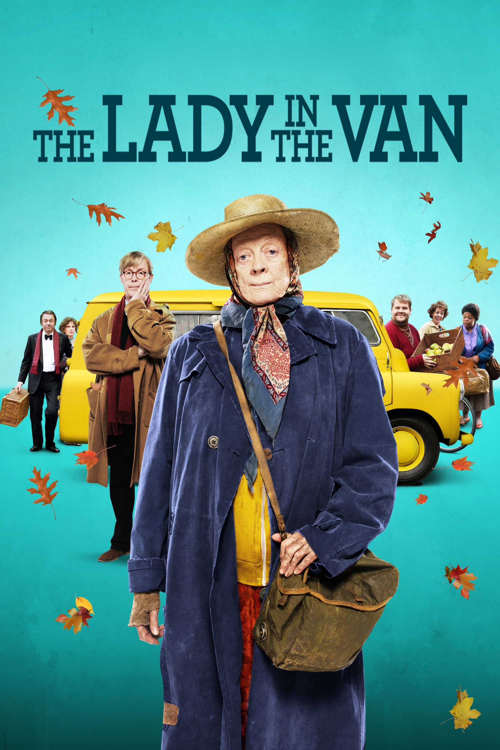 "Plakat von ""The Lady in the Van"""