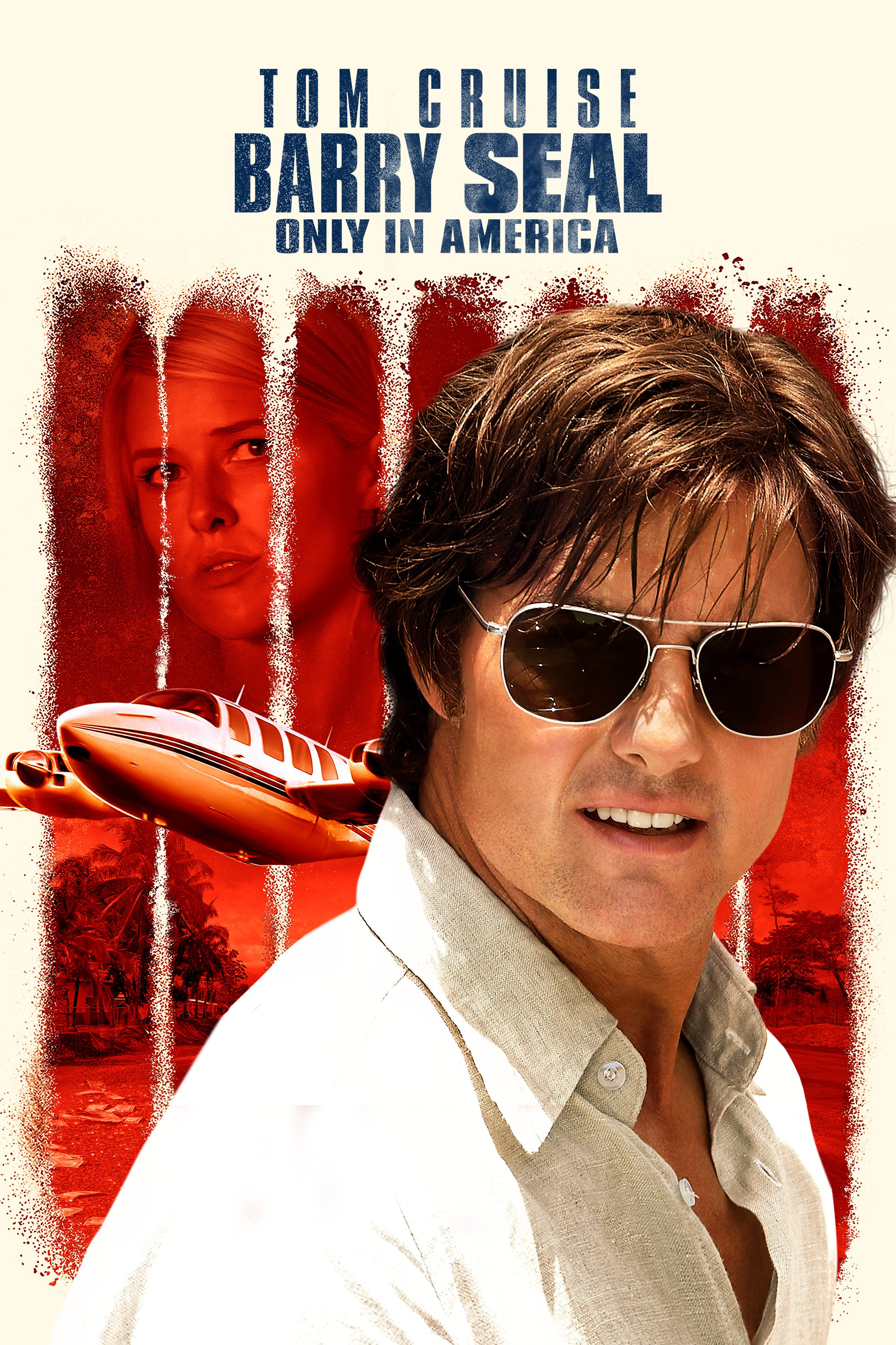 "Plakat von ""Barry Seal - Only in America"""