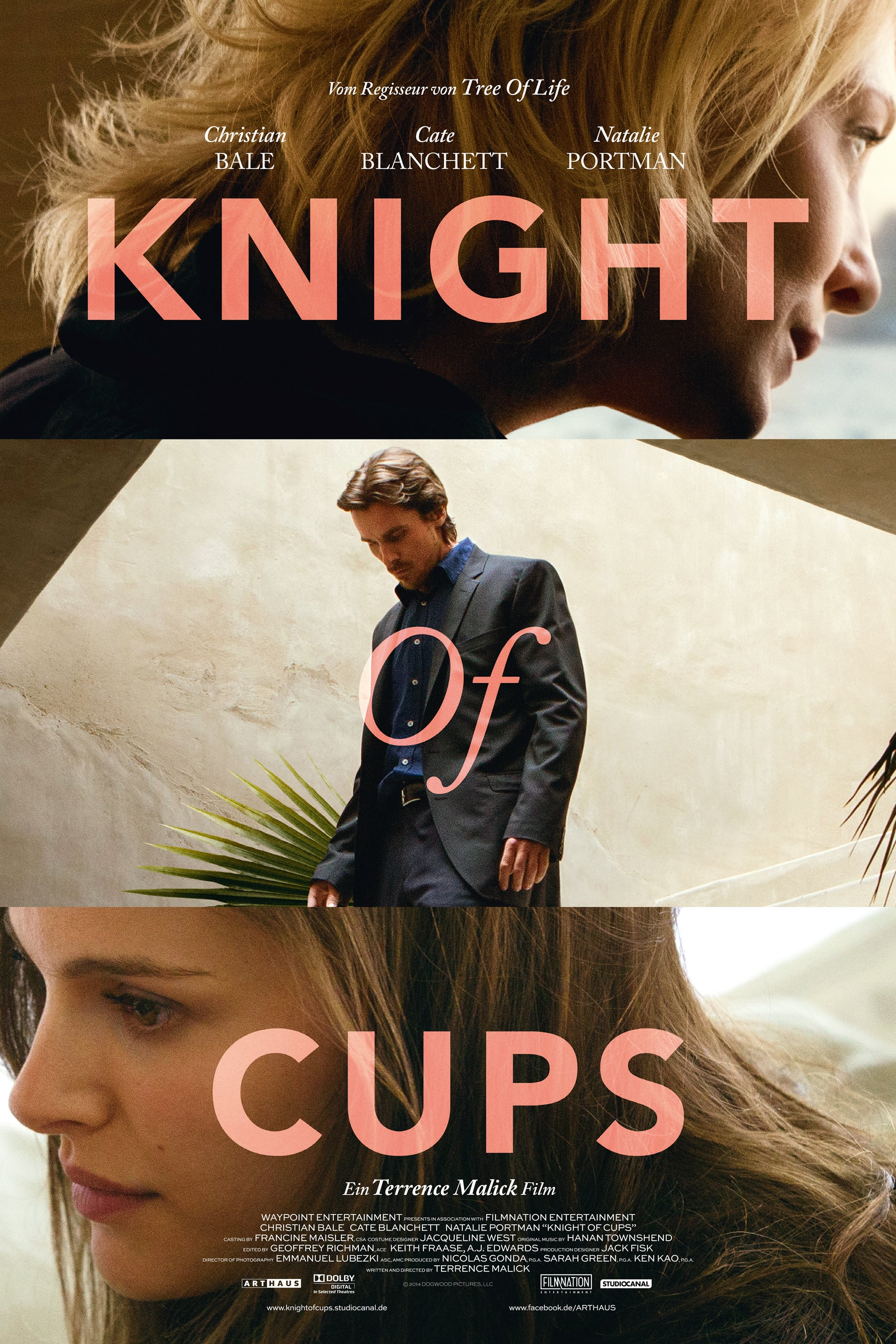 "Plakat von ""Knight of Cups"""