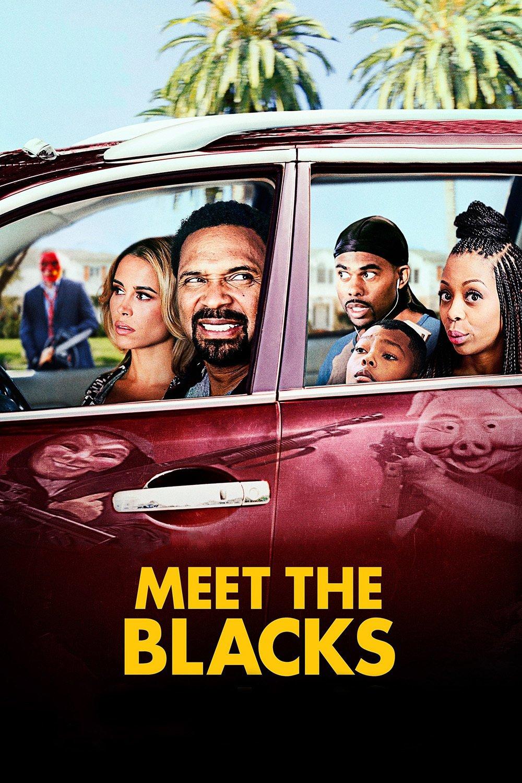 """Plakat von """"Meet the Blacks"""""""