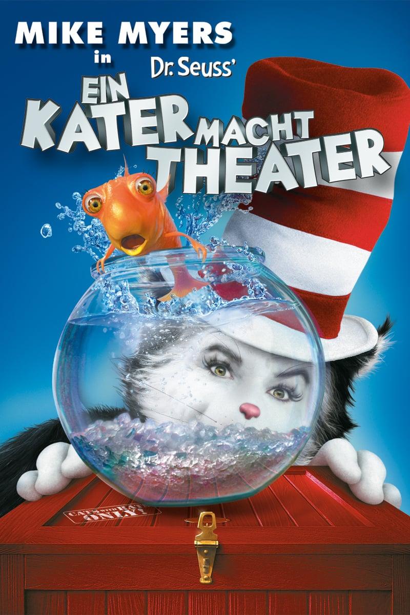 """Plakat von """"Ein Kater macht Theater"""""""