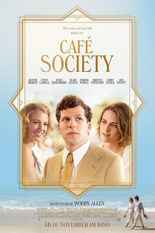 "Plakat von ""Café Society"""