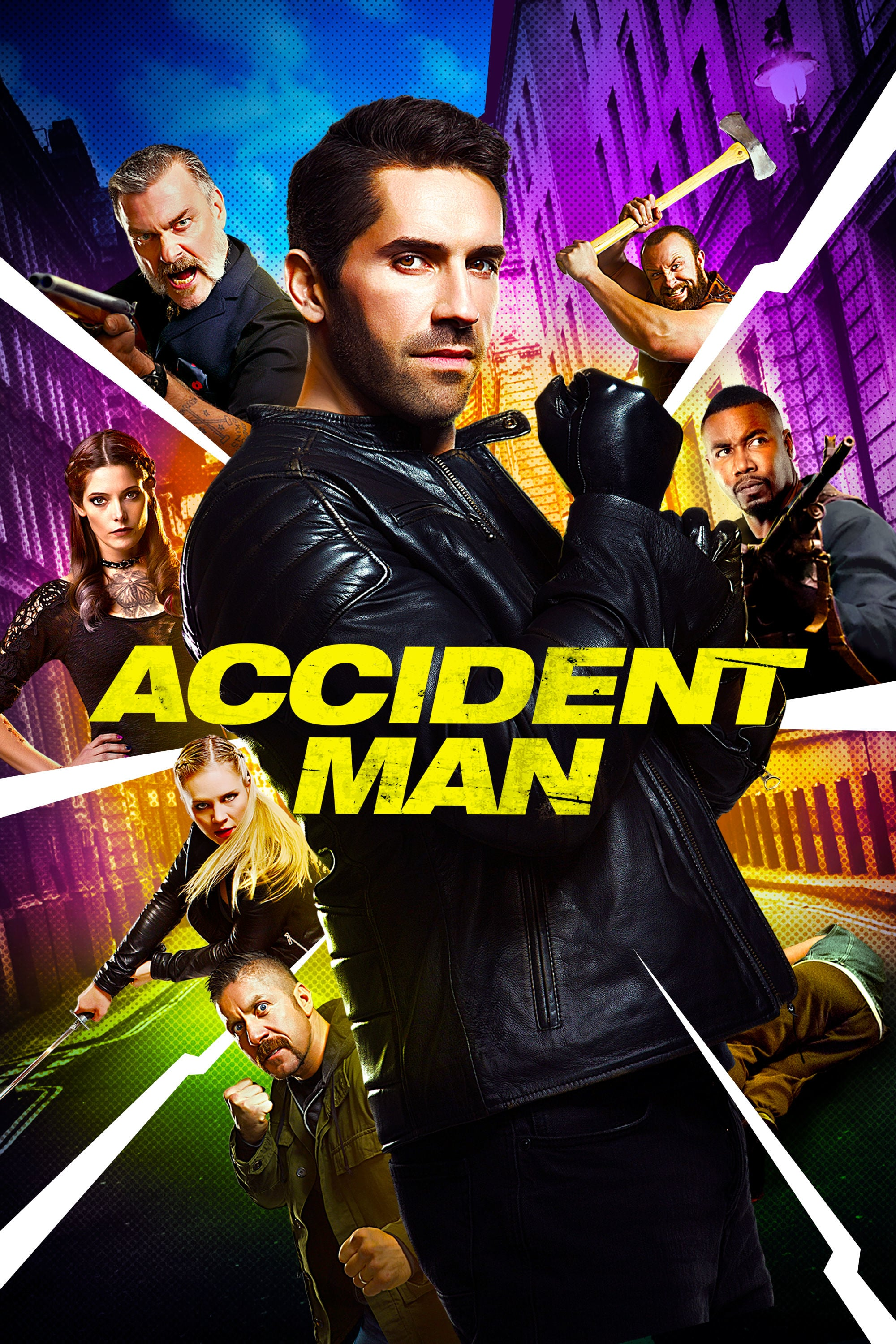 "Plakat von ""Accident Man"""