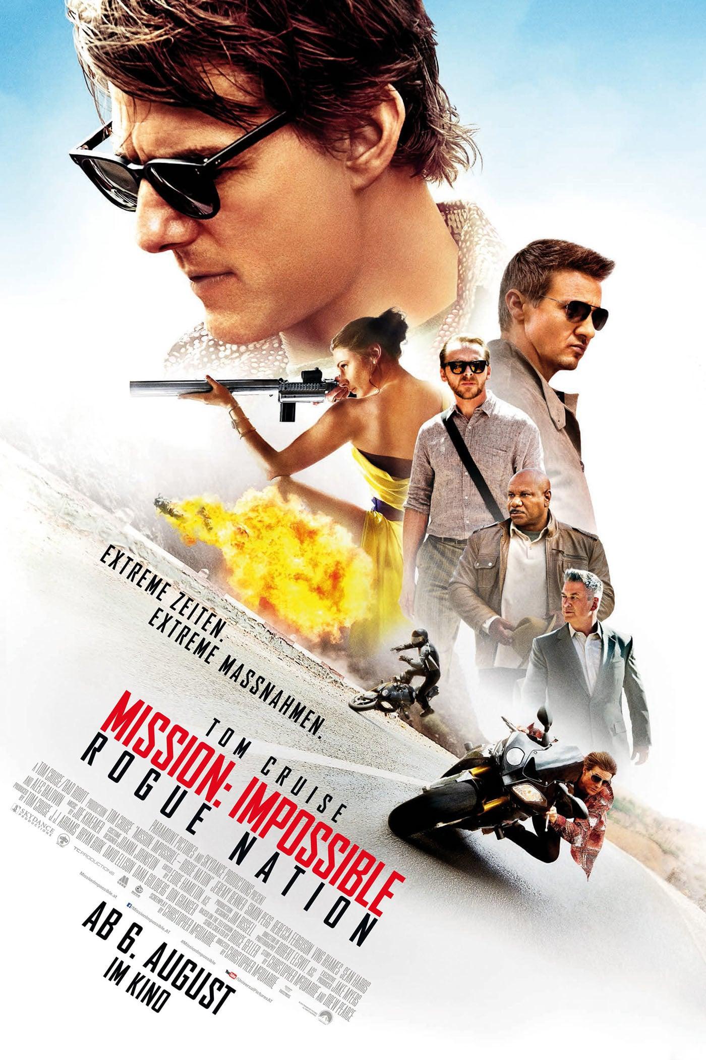 "Plakat von ""Mission: Impossible - Rogue Nation"""