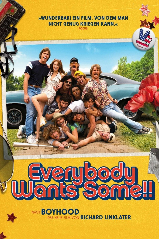 "Plakat von ""Everybody Wants Some!!"""