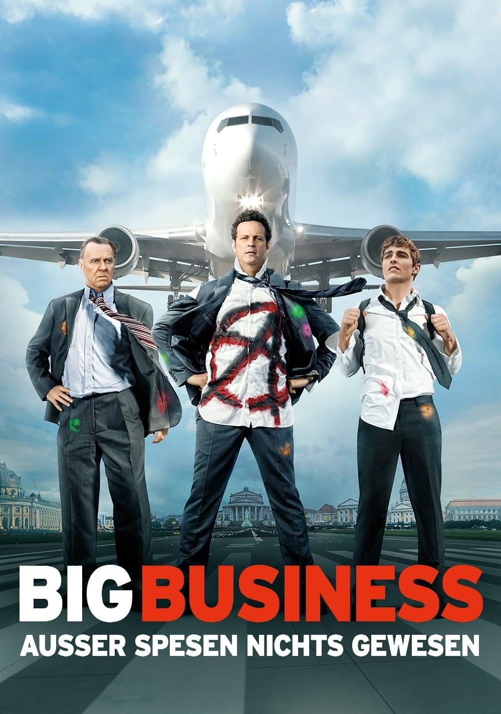 """Plakat von """"Big Business - Außer Spesen nichts gewesen"""""""