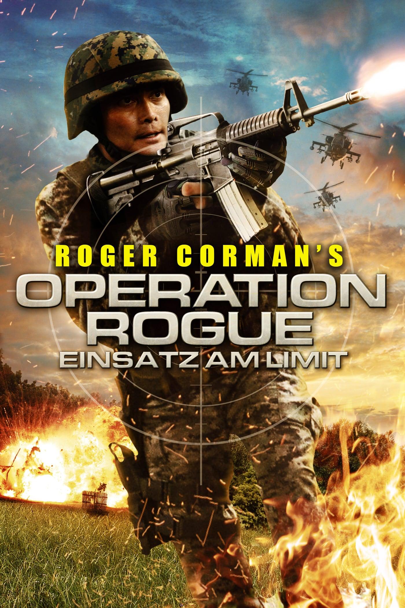 """Plakat von """"Operation Rogue - Einsatz am Limit"""""""
