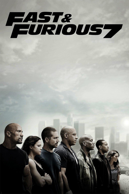 """Plakat von """"Fast & Furious 7"""""""