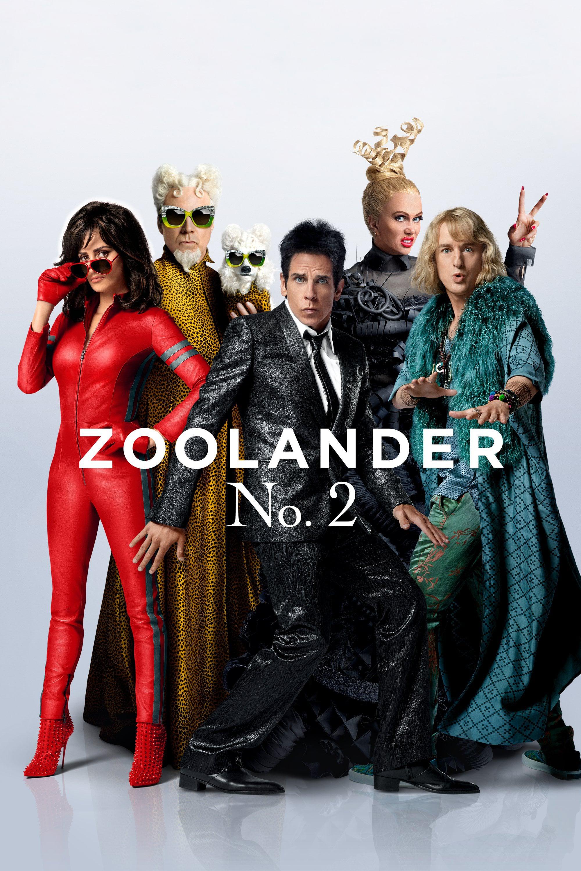 """Plakat von """"Zoolander No. 2"""""""