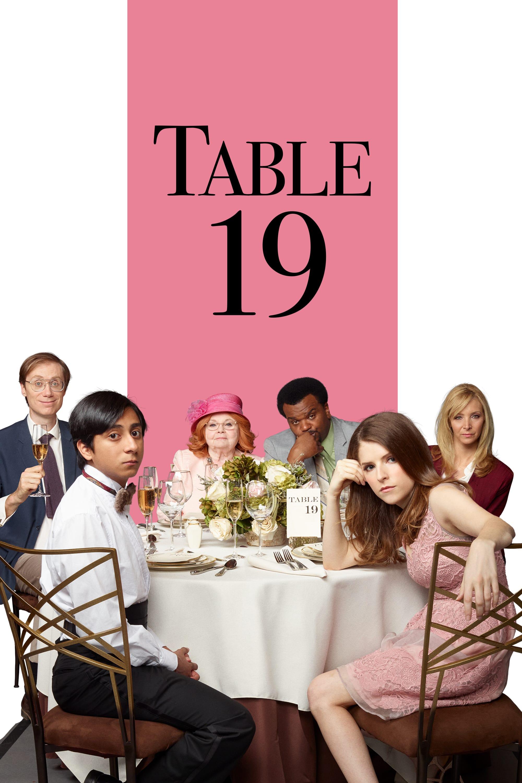 """Plakat von """"Table 19 - Liebe ist fehl am Platz"""""""