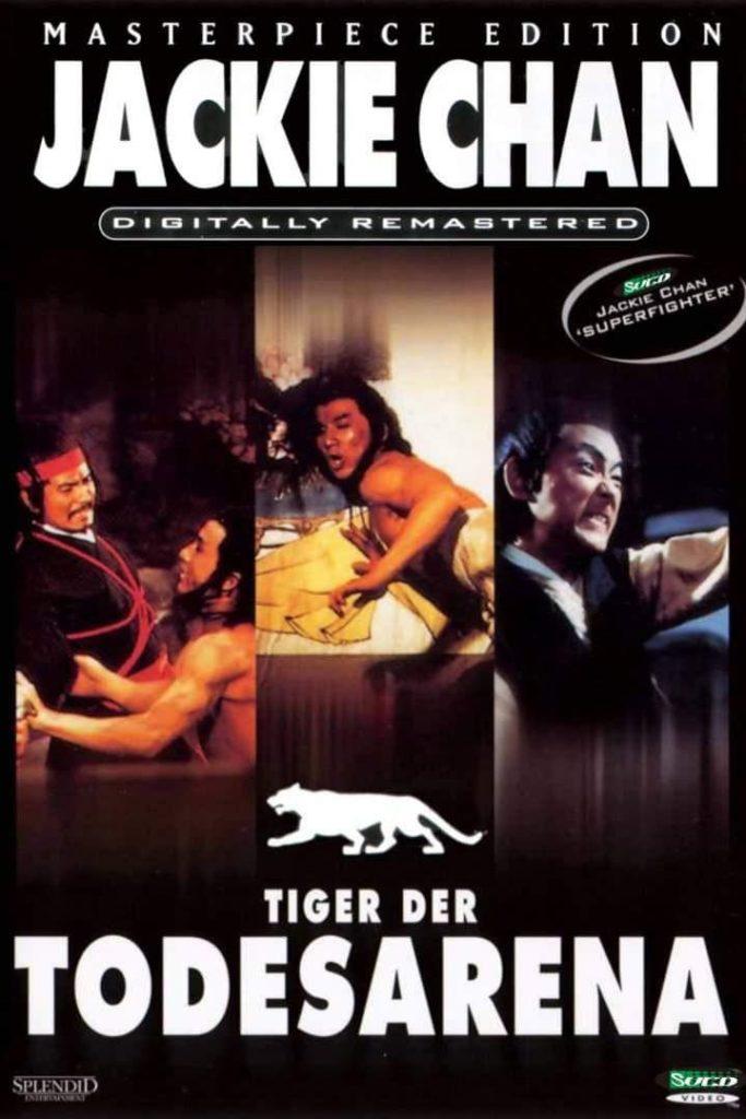 "Plakat von ""Tiger der Todesarena"""