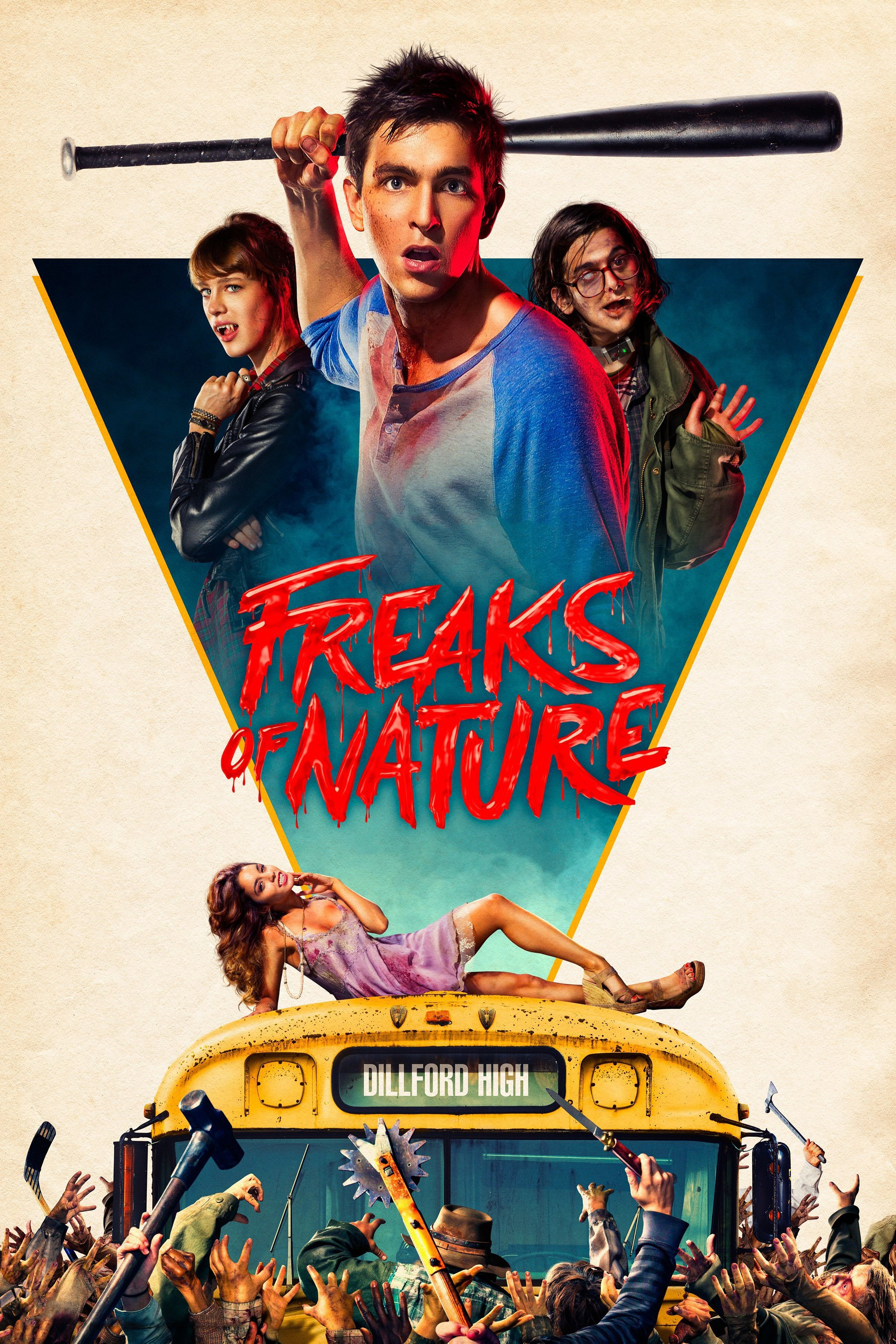 "Plakat von ""Freaks of Nature"""