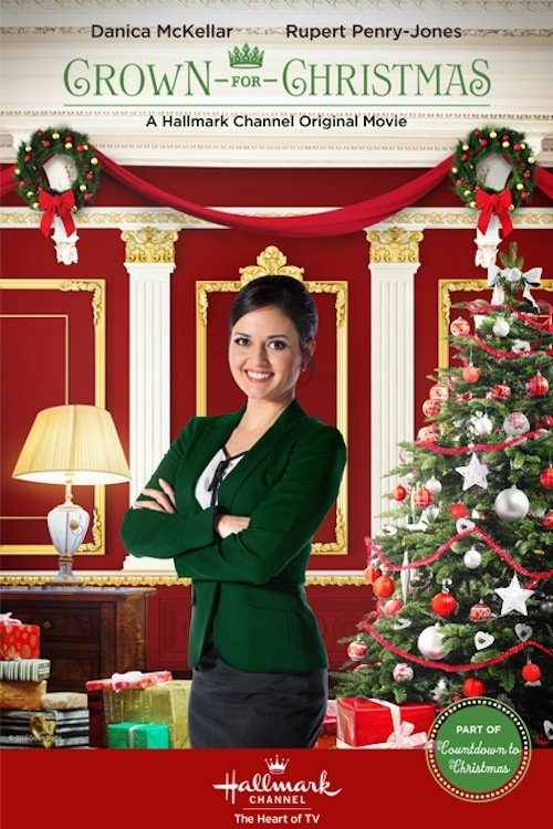 """Plakat von """"Eine Königin zu Weihnachten"""""""