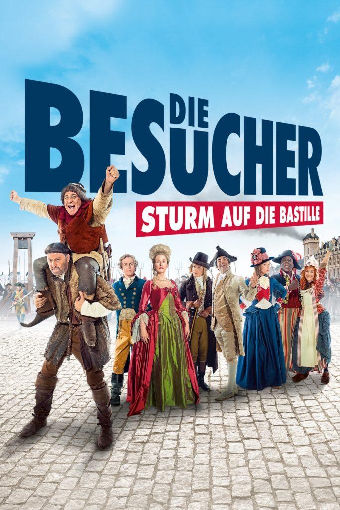 """Plakat von """"Die Besucher - Sturm auf die Bastille"""""""