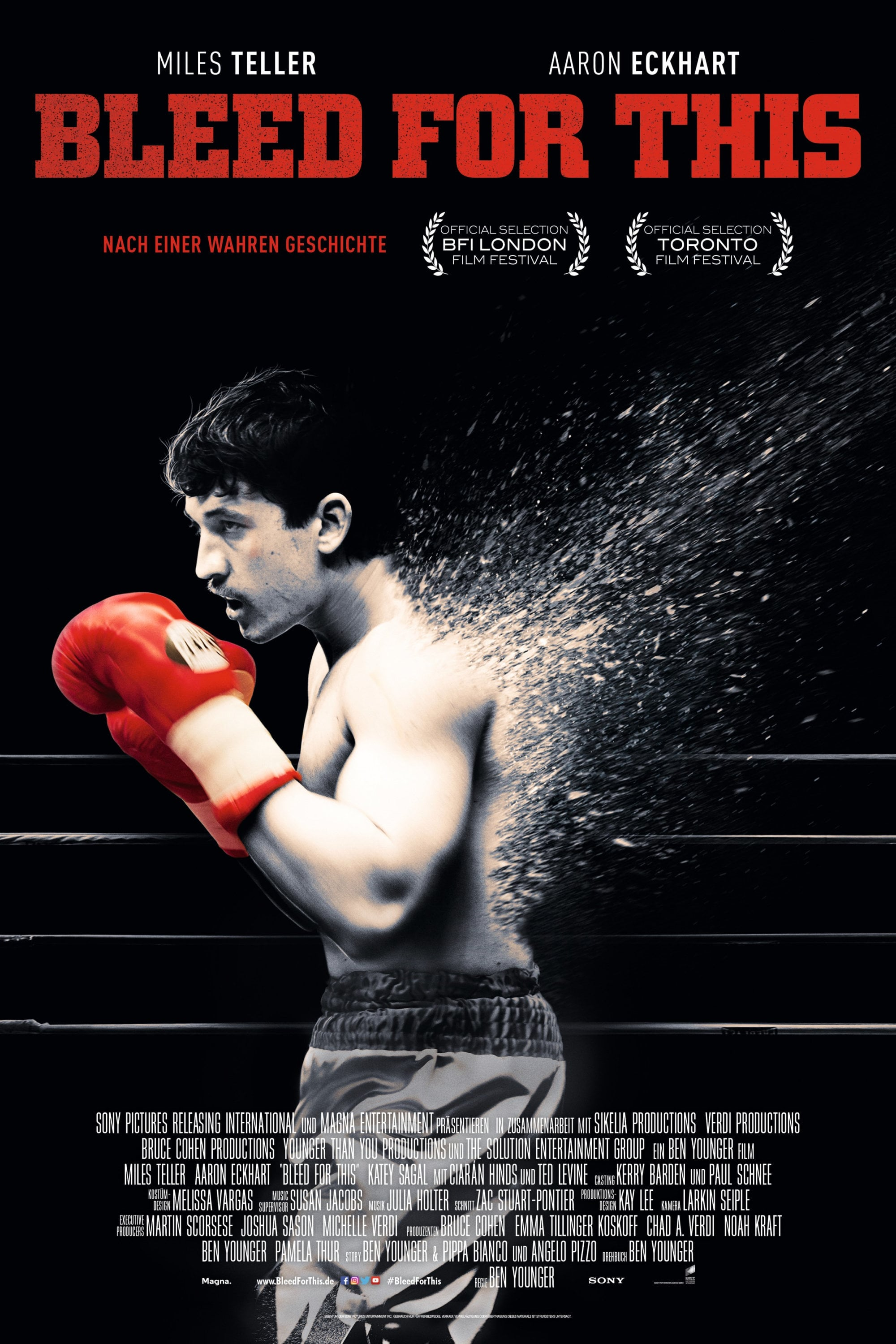 "Plakat von ""Bleed for This"""