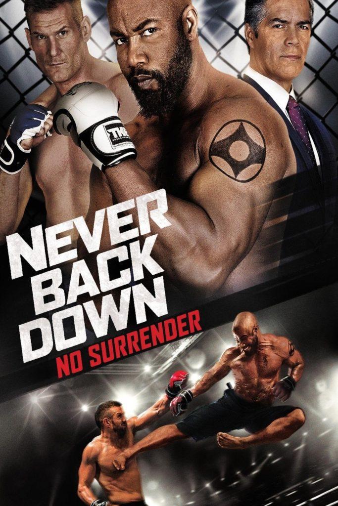 "Plakat von ""Never Back Down: No Surrender"""