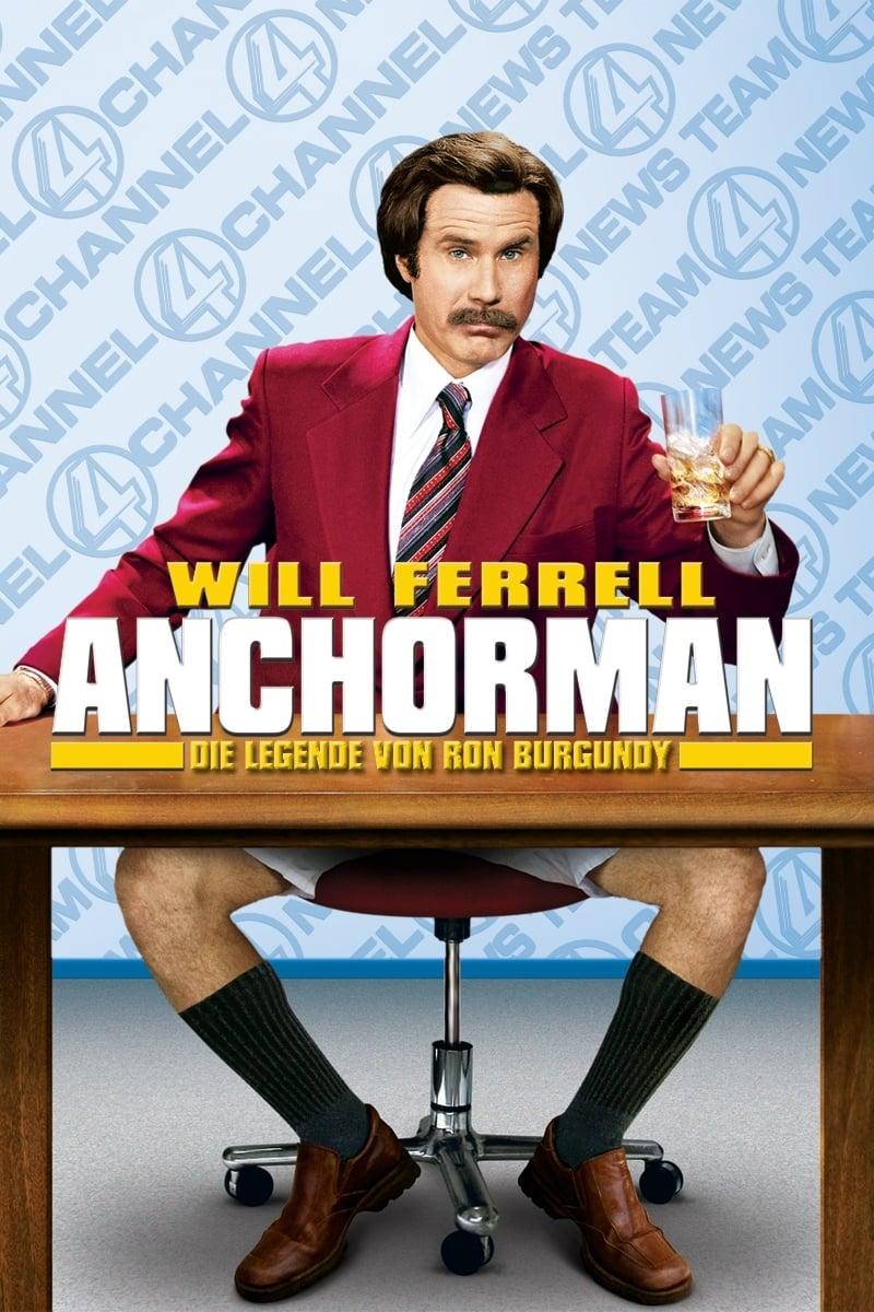 """Plakat von """"Anchorman - Die Legende von Ron Burgundy"""""""