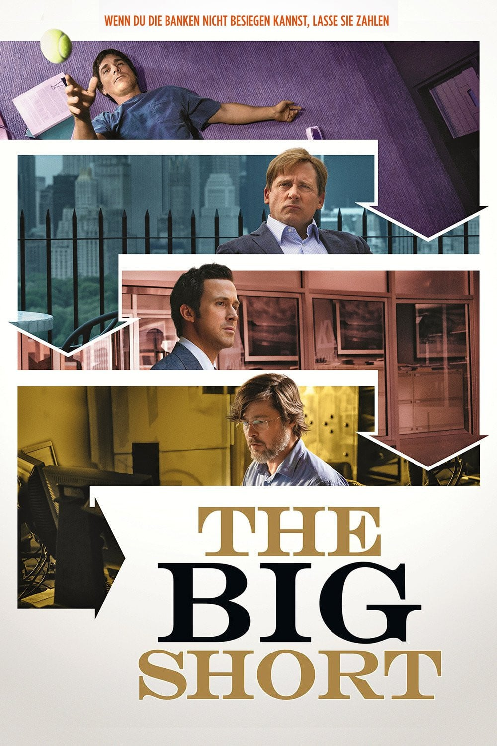 "Plakat von ""The Big Short"""