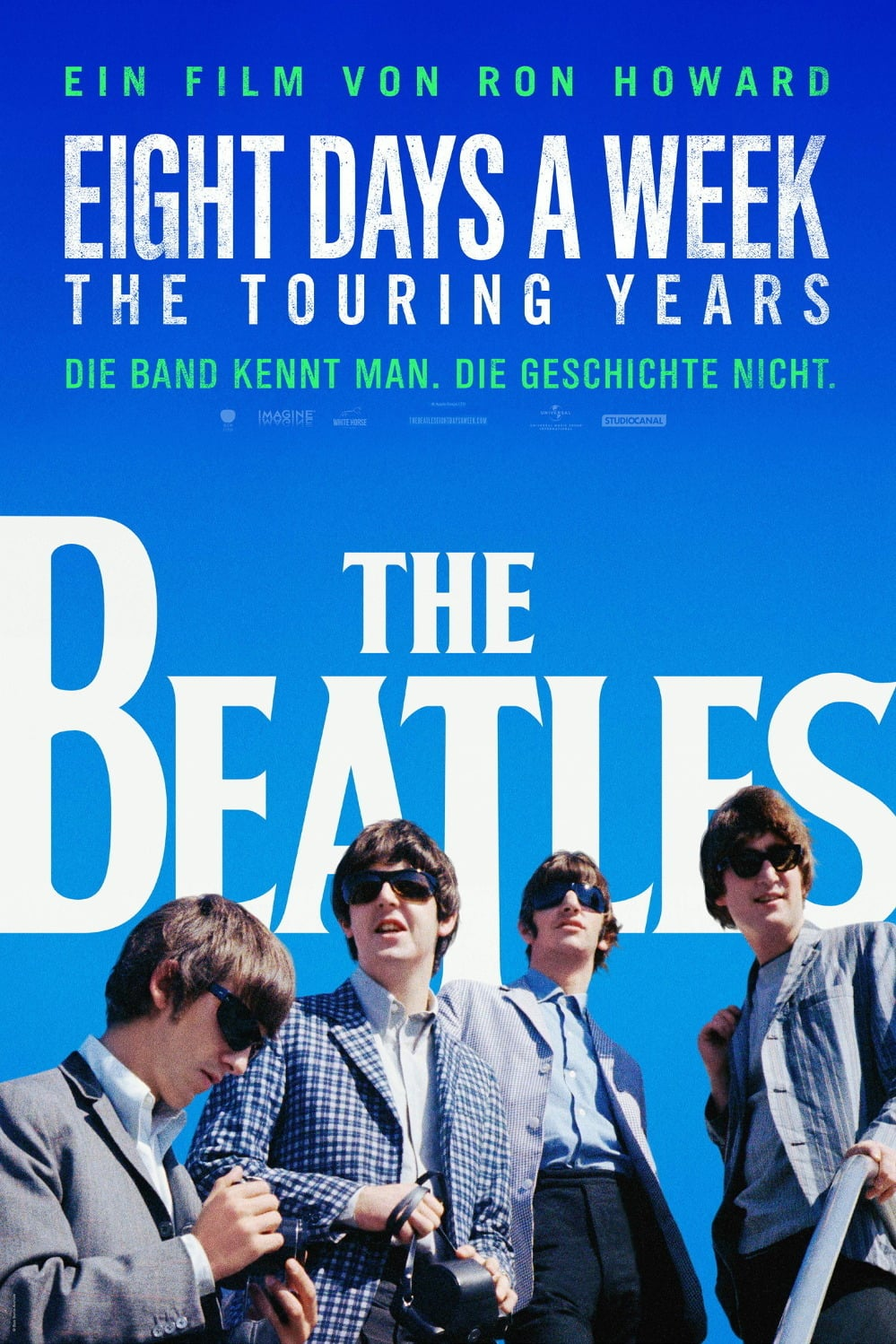 "Plakat von ""The Beatles: Eight Days a Week - The Touring Years"""