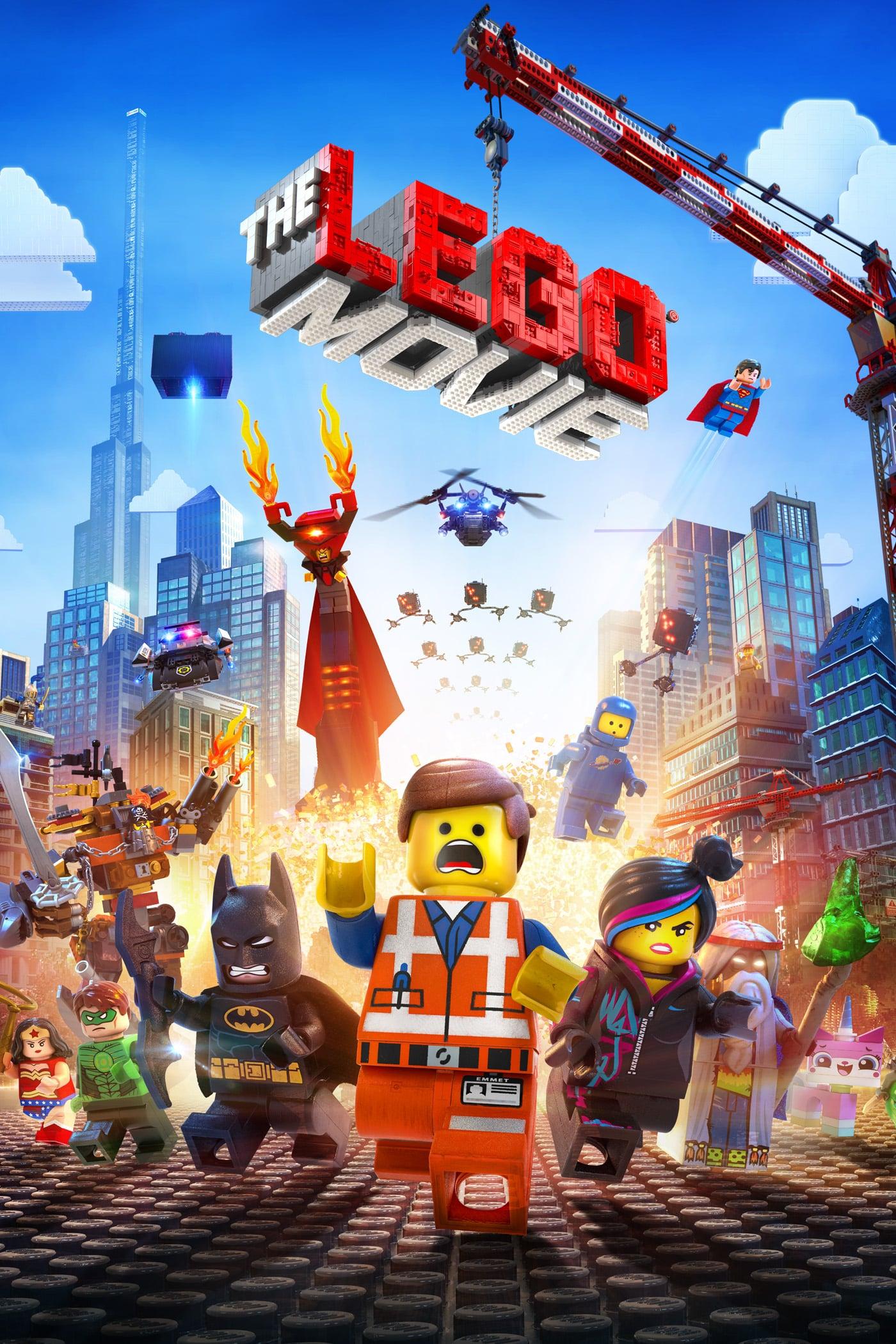 """Plakat von """"The Lego Movie"""""""