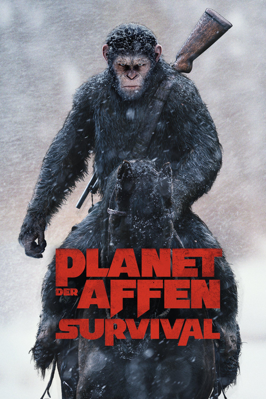 """Plakat von """"Planet der Affen - Survival"""""""