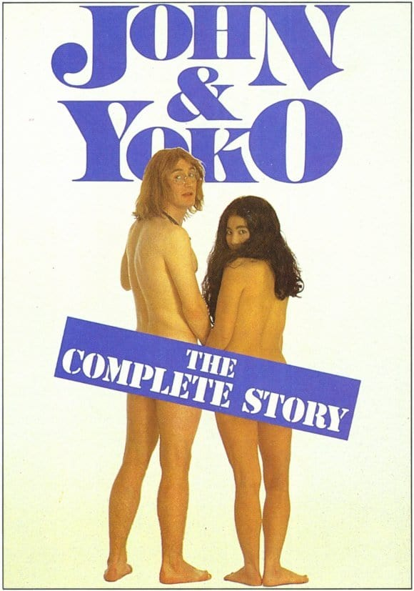 "Plakat von ""John and Yoko: A Love Story"""