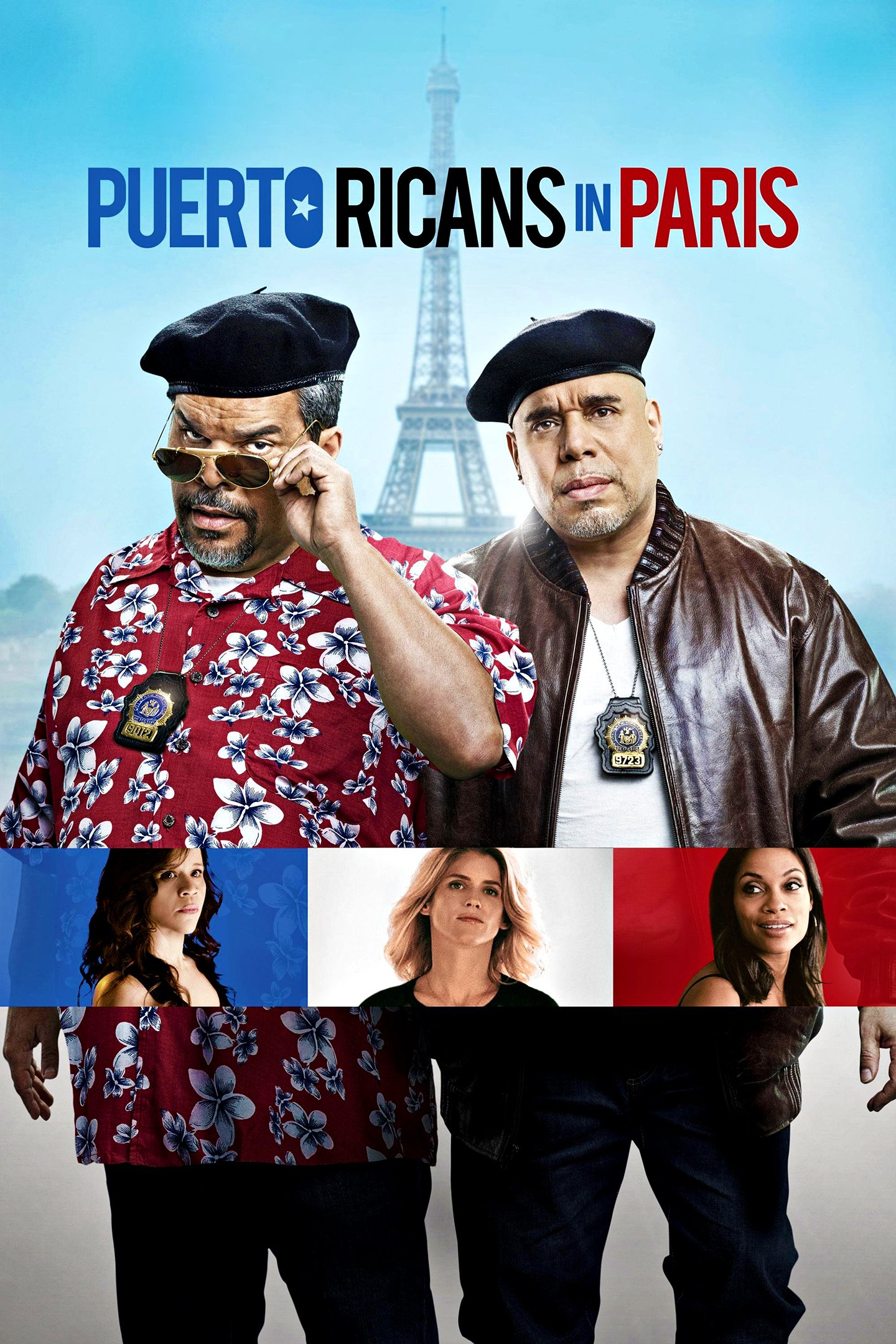 "Plakat von ""Puerto Ricans in Paris"""