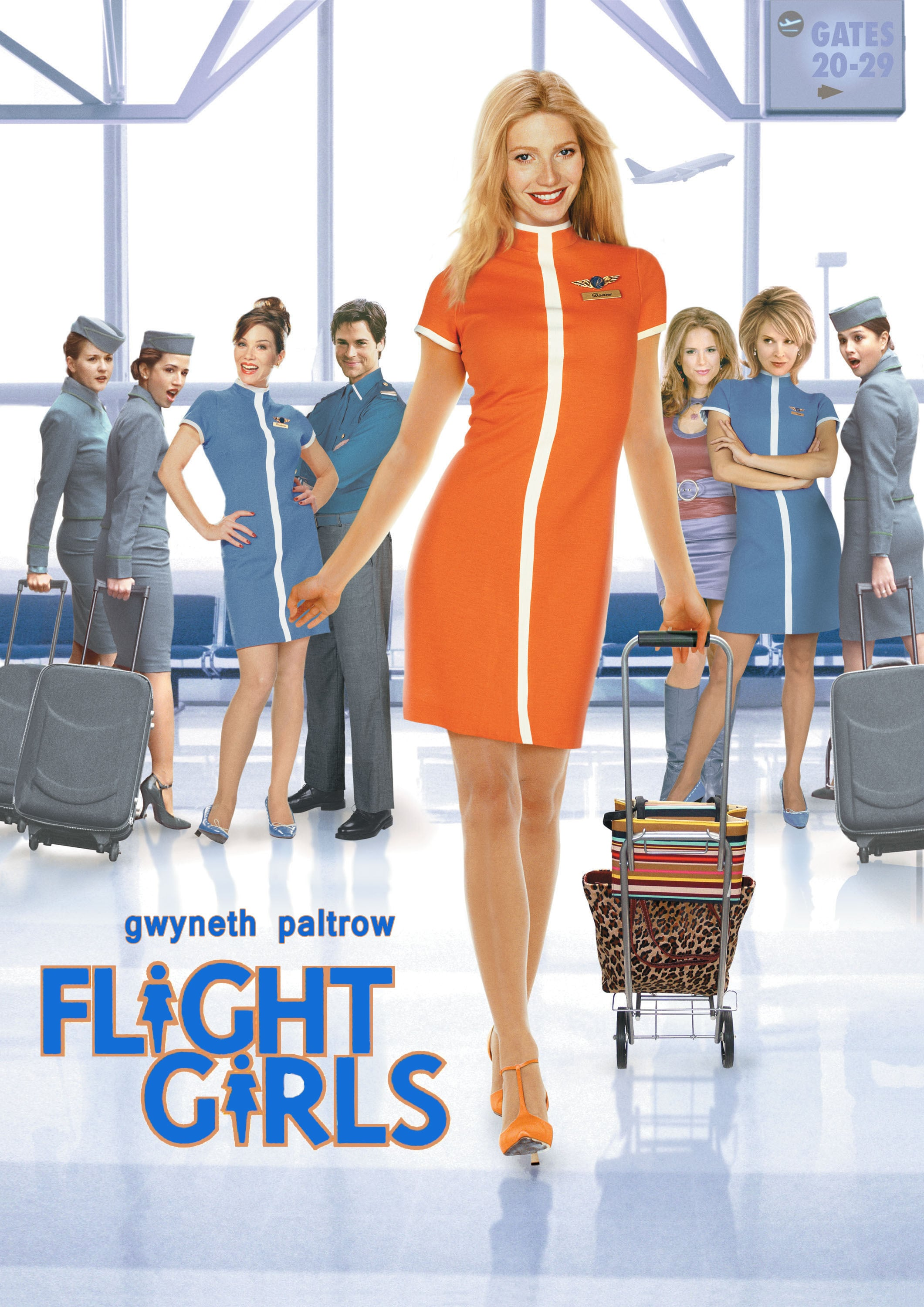 "Plakat von ""Flight Girls"""