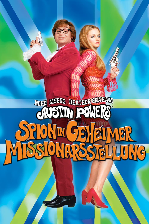 """Plakat von """"Austin Powers - Spion in geheimer Missionarsstellung"""""""