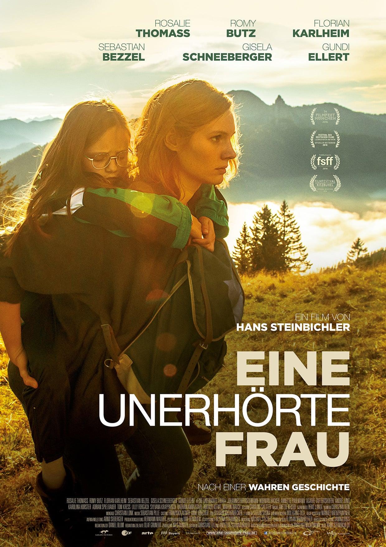 """Plakat von """"Eine unerhörte Frau"""""""