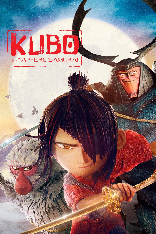 """Plakat von """"Kubo - Der tapfere Samurai"""""""