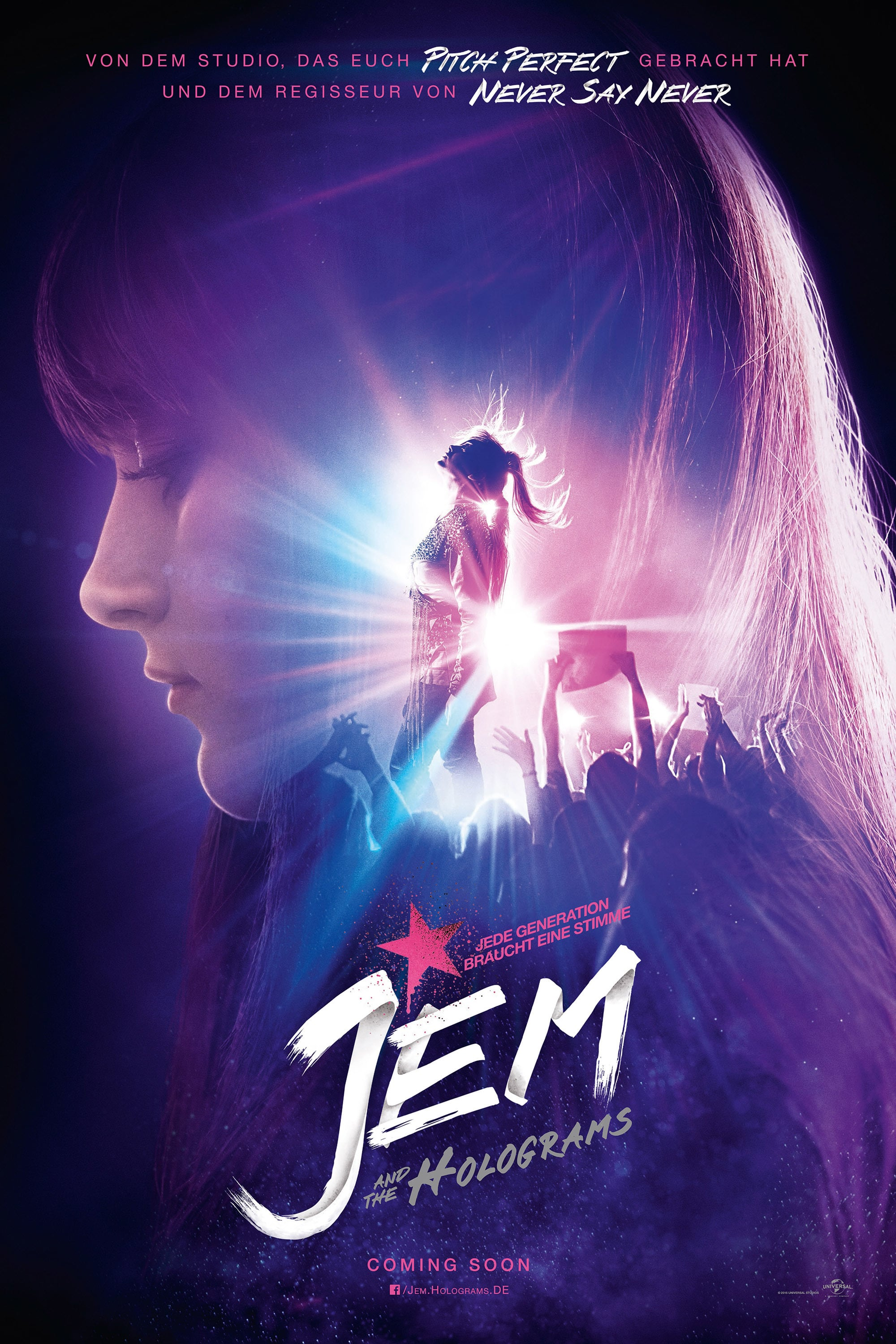 "Plakat von ""Jem and the Holograms"""
