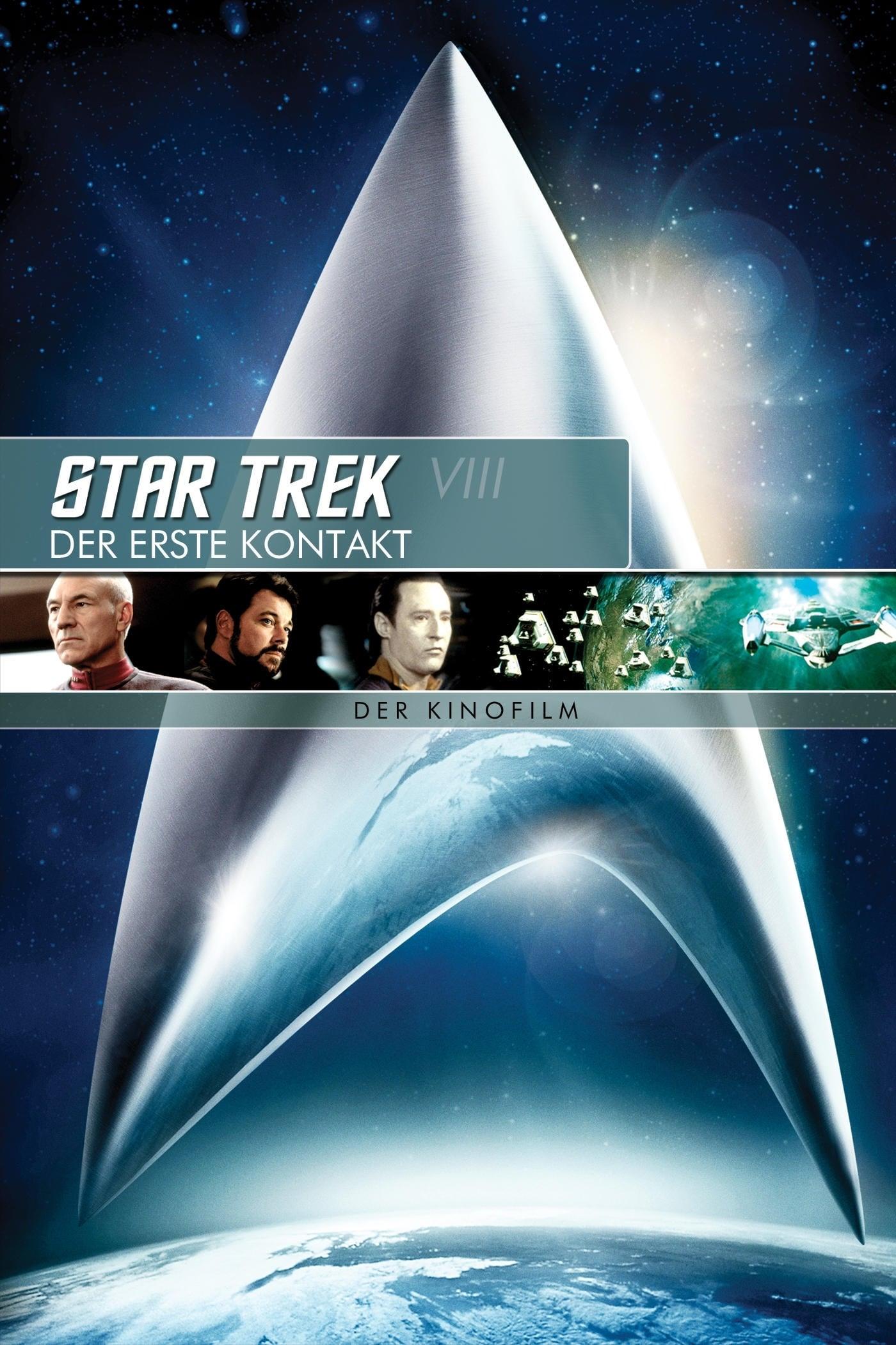 """Plakat von """"Star Trek - Der erste Kontakt"""""""