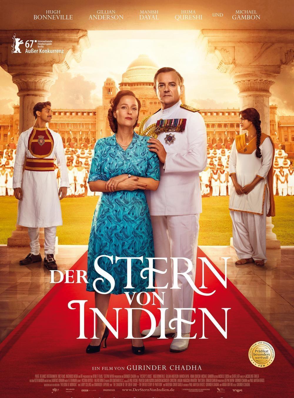 """Plakat von """"Der Stern von Indien"""""""