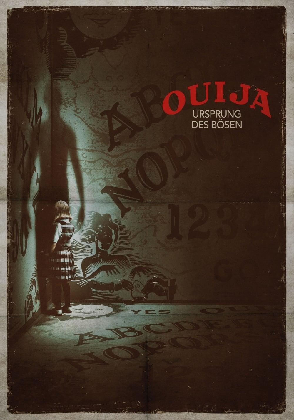 """Plakat von """"Ouija: Ursprung des Bösen"""""""