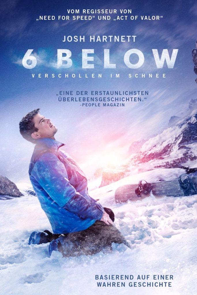 """Plakat von """"6 Below - Verschollen im Schnee"""""""
