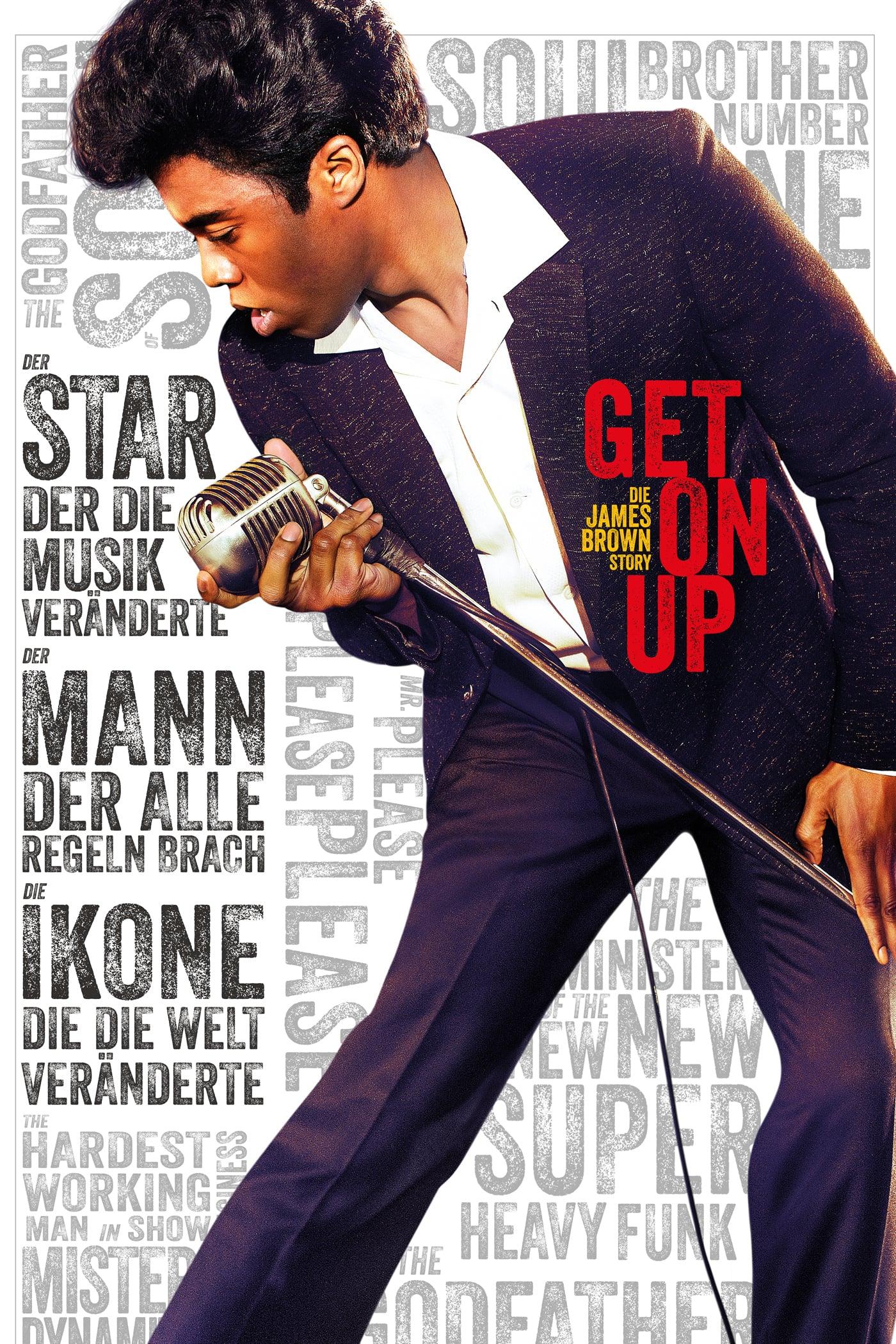 """Plakat von """"Get On Up"""""""