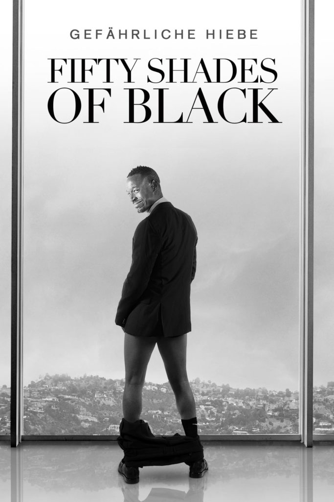 "Plakat von ""Fifty Shades of Black"""