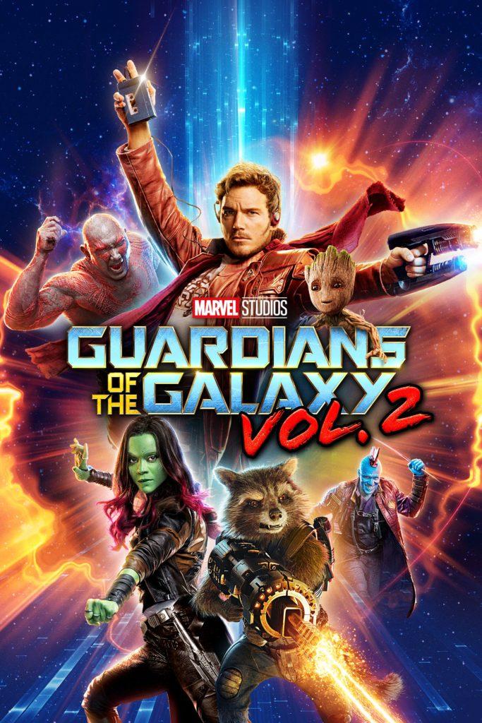 """Plakat von """"Guardians of the Galaxy Vol. 2"""""""