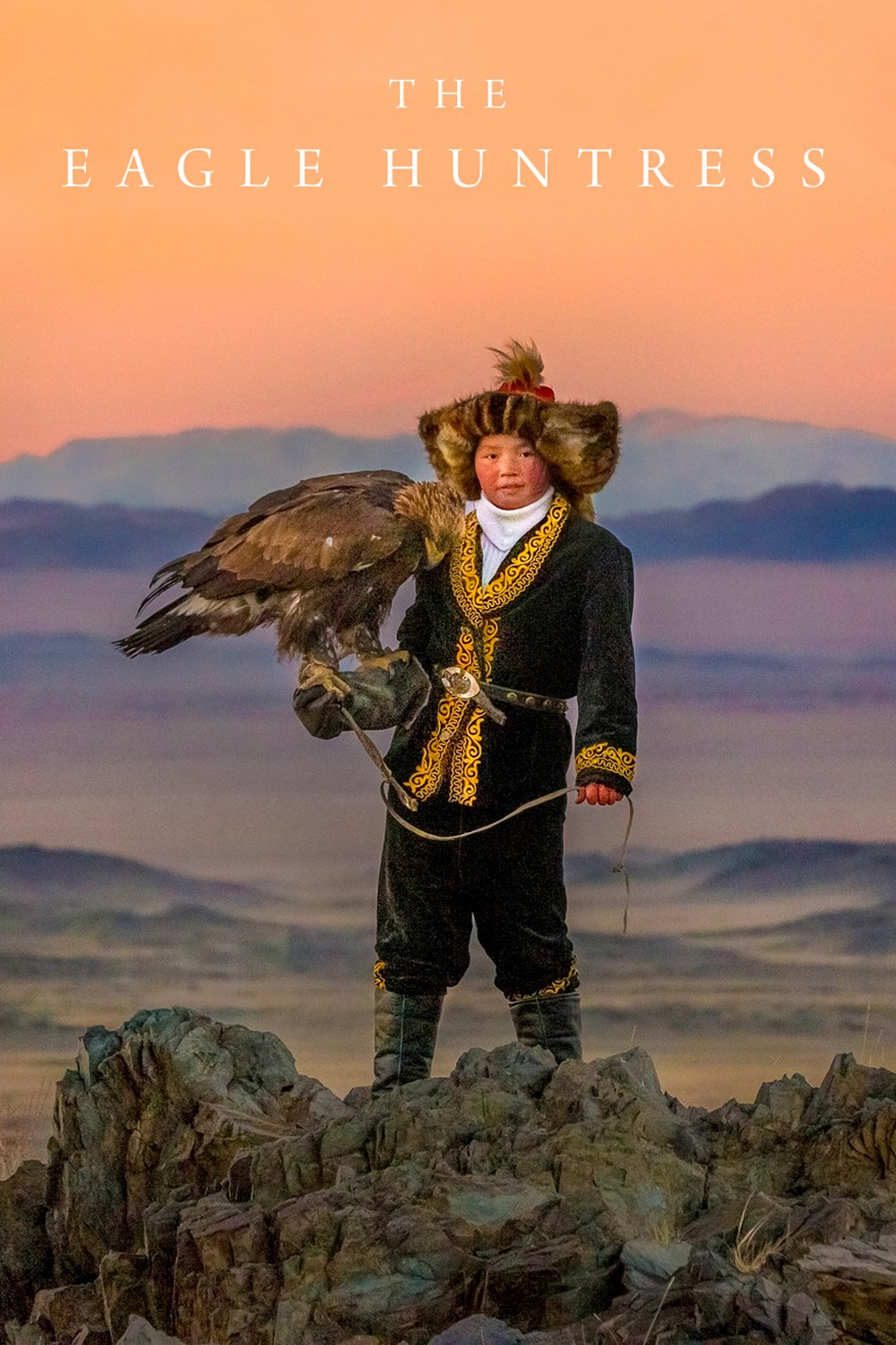 "Plakat von ""The Eagle Huntress"""