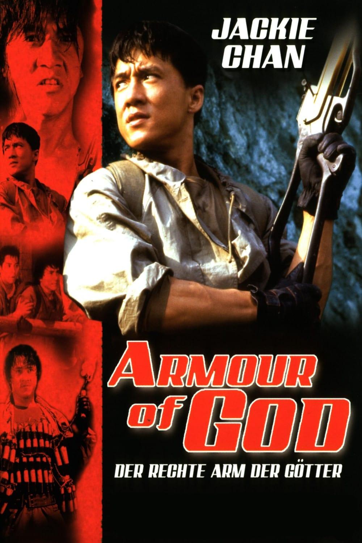 """Plakat von """"Der rechte Arm der Götter"""""""
