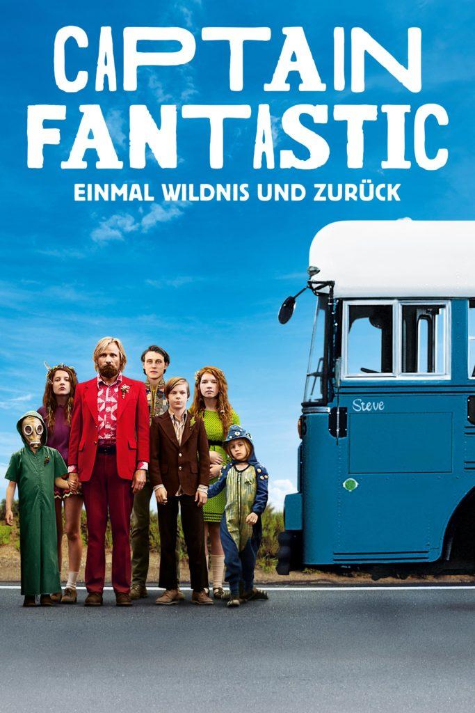 """Plakat von """"Captain Fantastic - Einmal Wildnis und zurück"""""""