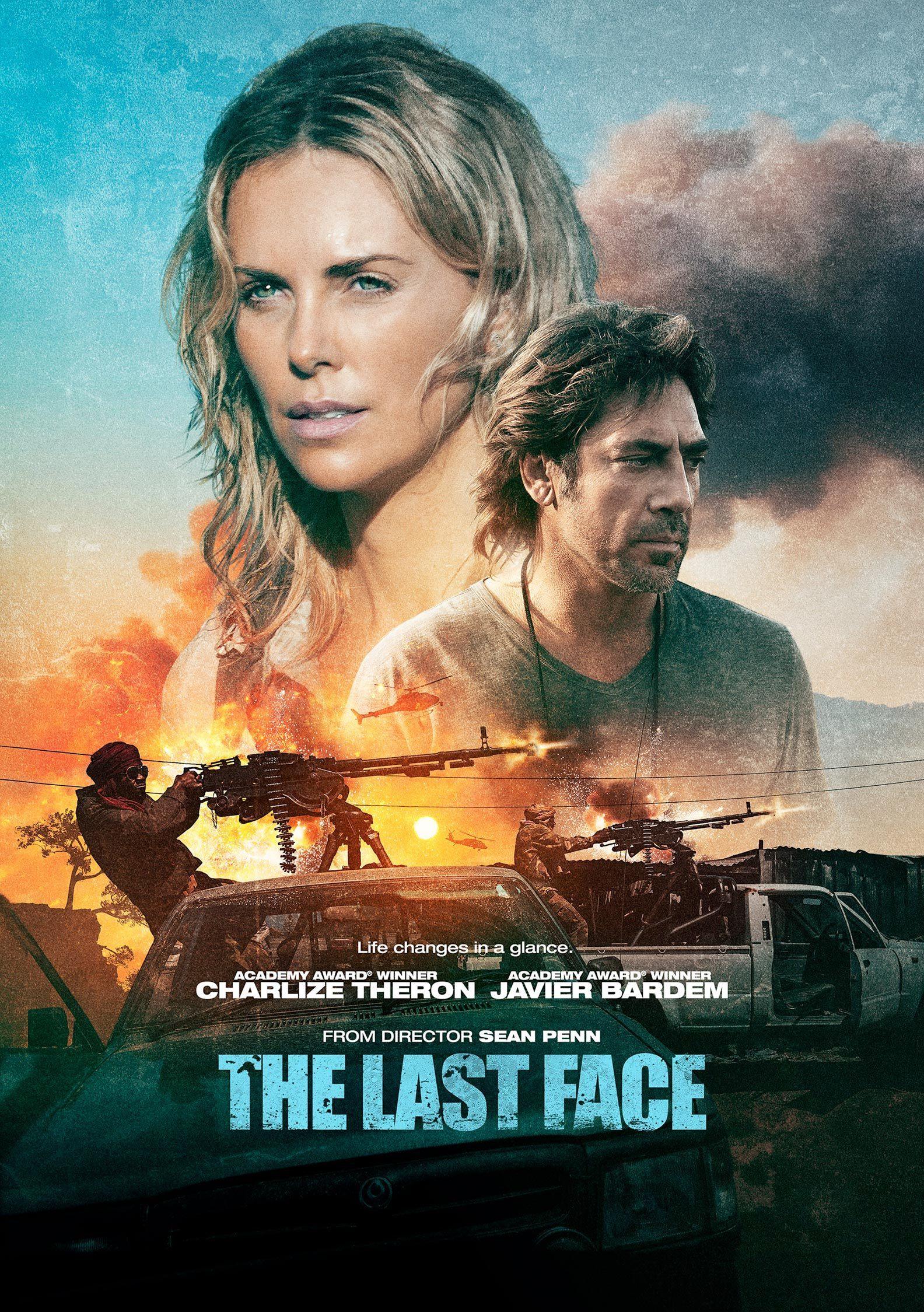 "Plakat von ""The Last Face"""