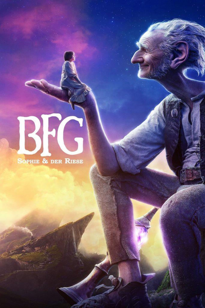 """Plakat von """"BFG - Sophie und der Riese"""""""