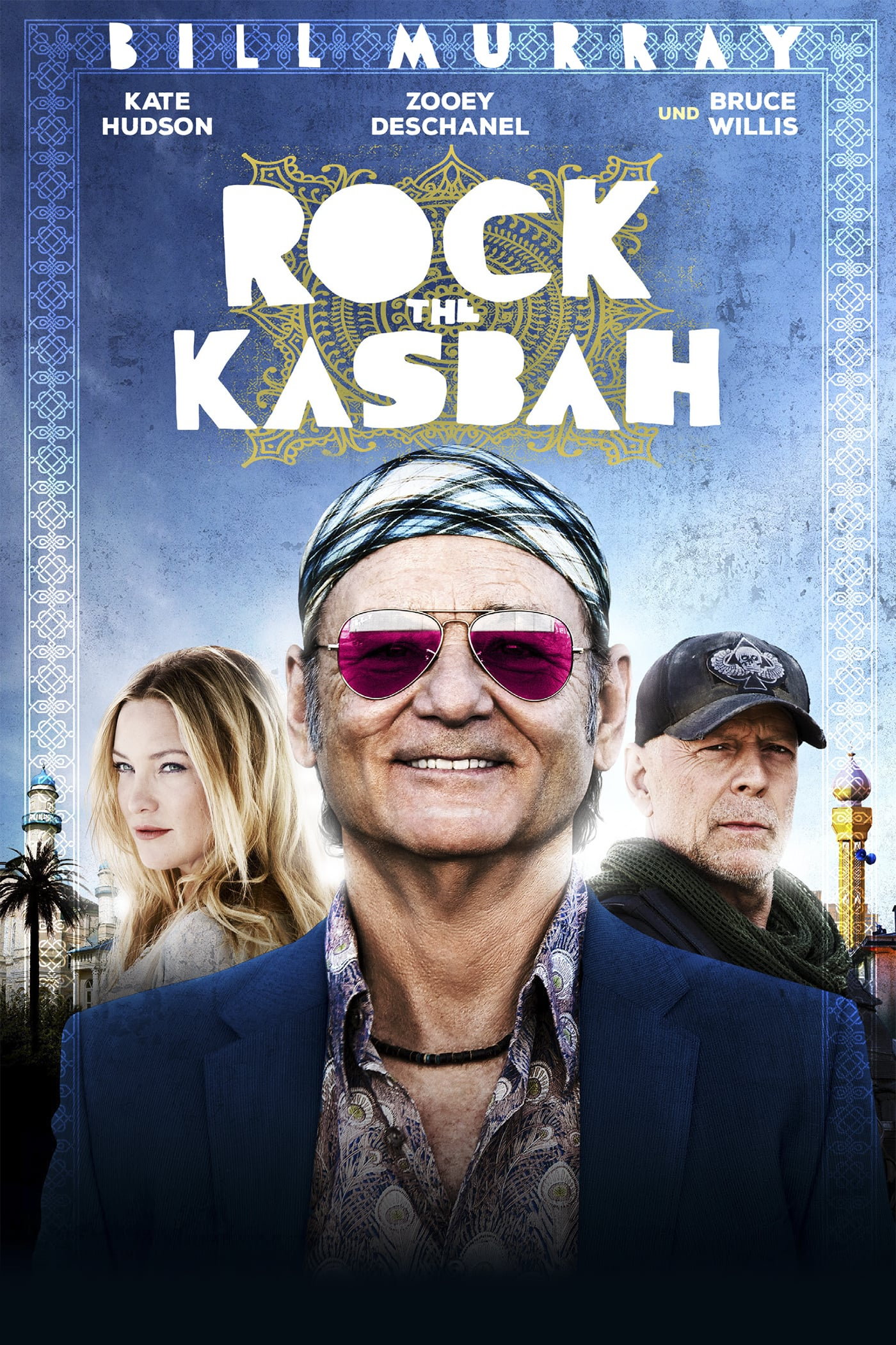 "Plakat von ""Rock the Kasbah"""