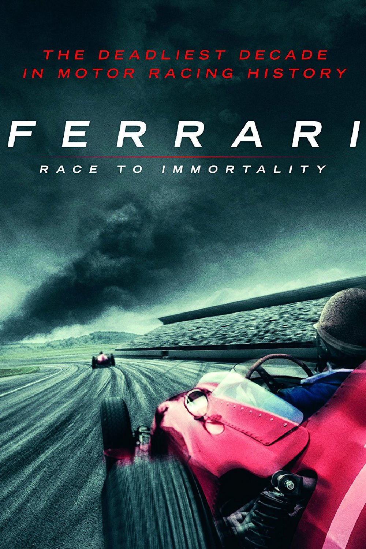 "Plakat von ""Ferrari: Race to Immortality"""
