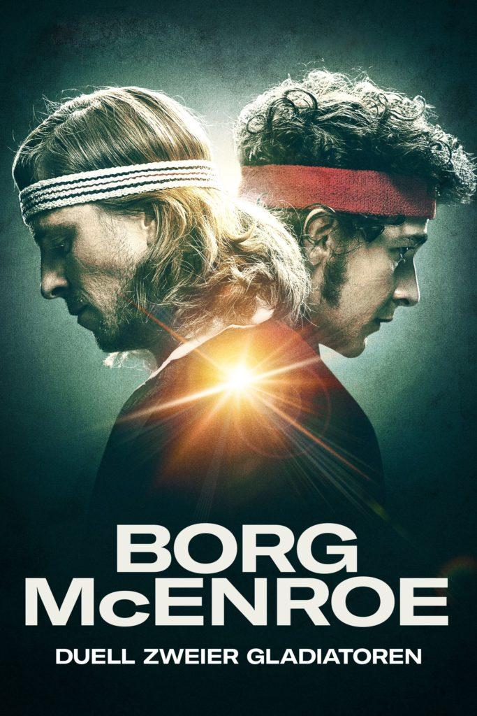 """Plakat von """"Borg McEnroe - Duell zweier Gladiatoren"""""""