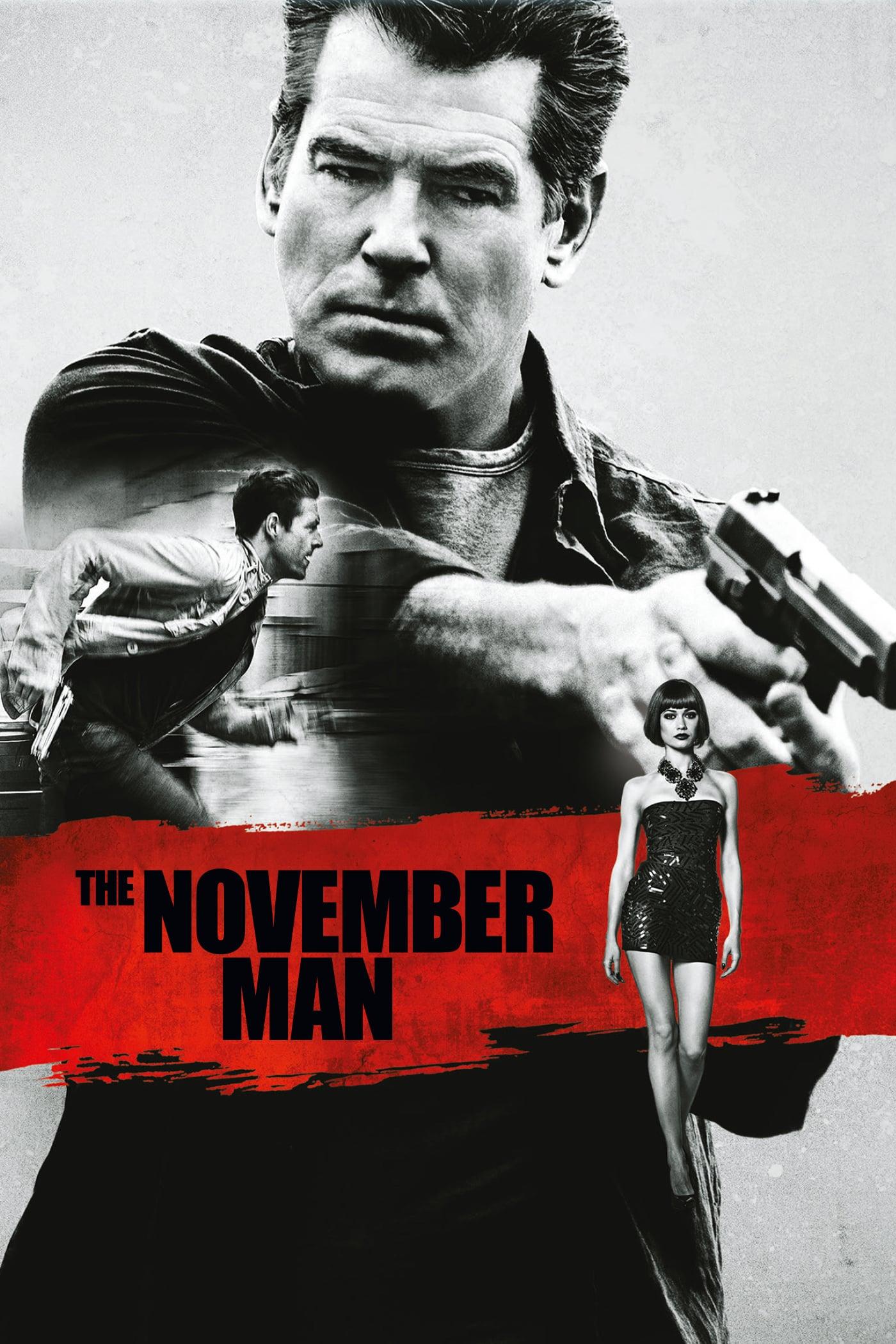 """Plakat von """"The November Man"""""""