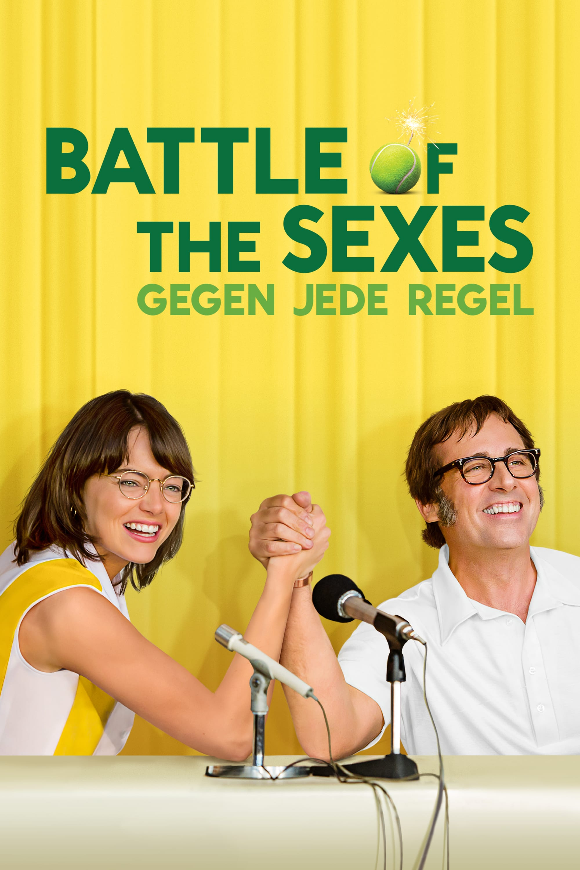 "Plakat von ""Battle of the Sexes - Gegen jede Regel"""