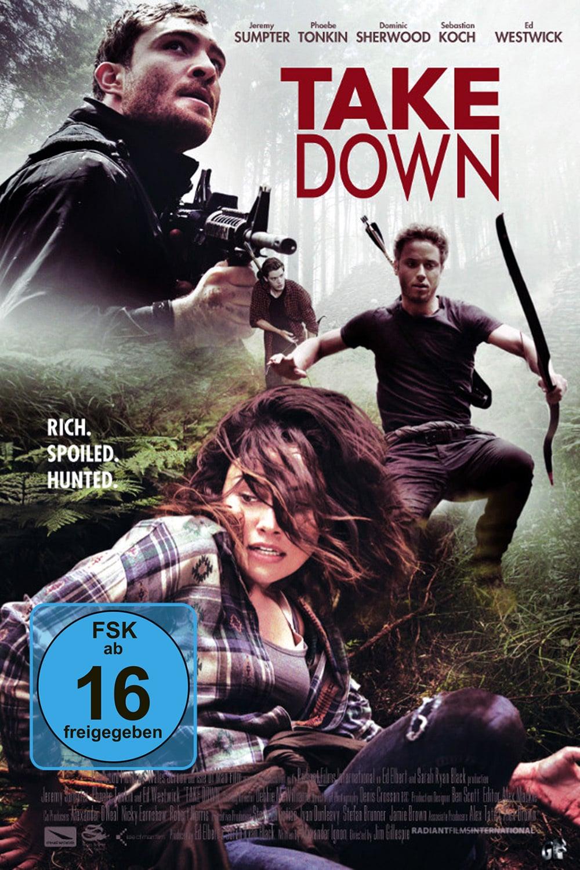 "Plakat von ""Take Down - Die Todesinsel"""
